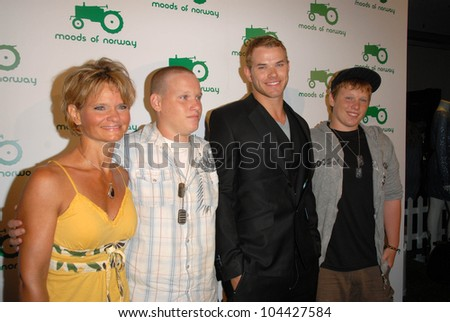 Kellan Lutz and family at the Moods of Norway U.S. Flagship Launch, Beverly Hills, CA 07-08-09