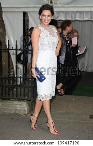 Kelly Brook arriving for the Glamour Women Of The Year Awards 2012, at Berkeley Square, London. 29/05/2012 Picture by: Alexandra Glen / Featureflash - stock photo