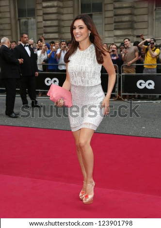 Kelly Brook arriving for the 2012 GQ Men Of The Year Awards, Royal Opera House, London. 05/09/2012 Picture by: Henry Harris - stock photo