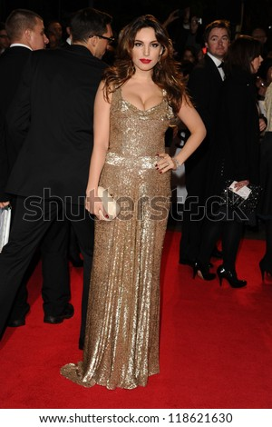 Kelly Brook  arriving for the Royal World Premiere of 'Skyfall' at Royal Albert Hall, London. 23/10/2012 Picture by: Steve Vas - stock photo