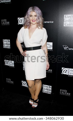 Kelly Osborne at the Los Angeles Gay & Lesbian Center Honors Rachel Zoe held at the Sunset Tower Hotel, California, United States on January 23, 2012.  - stock photo