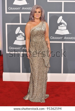 Kelly Osbourne at the 54th Annual Grammy Awards at the Staples Centre, Los Angeles. February 12, 2012  Los Angeles, CA Picture: Paul Smith / Featureflash