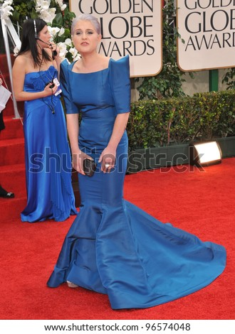 Kelly Osbourne at the 69th Golden Globe Awards at the Beverly Hilton Hotel. January 15, 2012  Beverly Hills, CA Picture: Paul Smith / Featureflash - stock photo