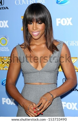"Kelly Rowland at the ""The X Factor"" Season Three Premiere, Cecconi's, West Hollywood, CA 09-05-13"