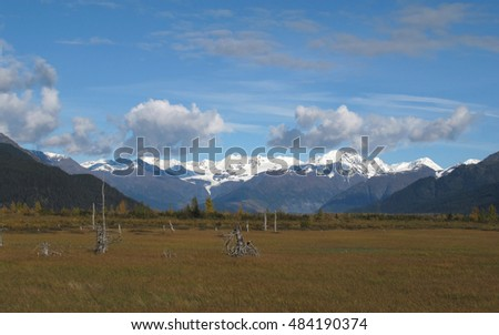Kenai Mountains along the Seward Highway, Alaska