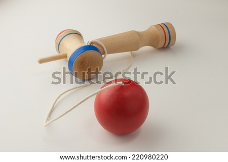 Kendama, an old Japanese toy