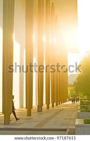 Kennedy Center Terrace - stock photo