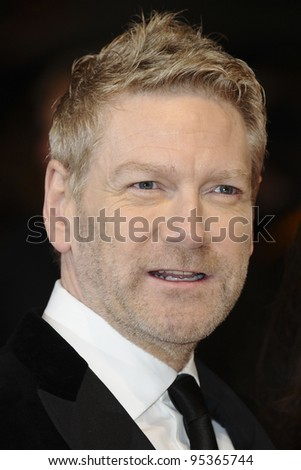 Kenneth Brannagh arriving for the BAFTA Film Awards 2012 at the Royal Opera House, Covent Garden, London. 12/02/2012  Picture by: Steve Vas / Featureflash