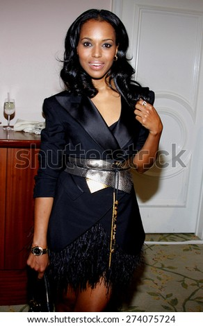 Kerry Washington at the 2009 Essence Black Women in Hollywood Luncheon held at the Beverly Hills Hotel in Beverly Hills on February 19, 2009.  - stock photo