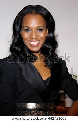 Kerry Washington at the Essence Black Women in Hollywood Luncheon held at the Beverly Hills Hotel in Beverly Hills, USA on February 19, 2009. - stock photo