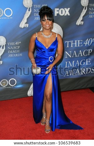 Keshia Knight Pulliam at the 40th NAACP Image Awards. Shrine Auditorium, Los Angeles, CA. 02-12-09