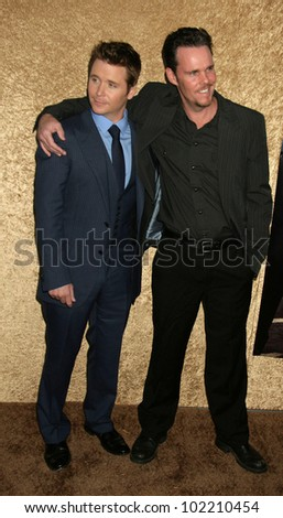 "Kevin Connolly and Kevin Dillon  at the ""Entourage"" Season 7 Premiere, Paramount Studios, Hollywood, CA. 06-16-10"