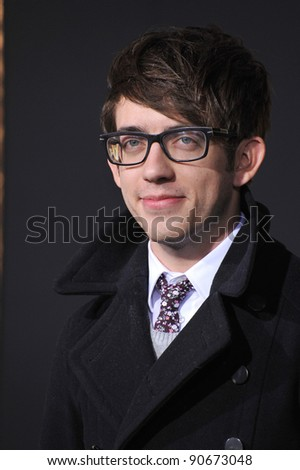 "Kevin McHale at the world premiere of ""New Year's Eve"" at Grauman's Chinese Theatre, Hollywood. December 5, 2011  Los Angeles, CA Picture: Paul Smith / Featureflash"