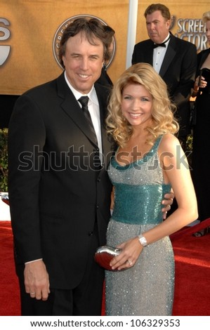 Kevin Nealon and Susan Yeagley at the 15th Annual Screen Actors Guild Awards. Shrine Auditorium, Los Angeles, CA. 01-25-09
