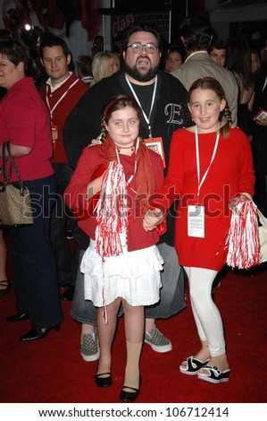 Kevin Smith and family  at the Los Angeles Premiere of 'High School Musical 3 Senior Year'. USC, Los Angeles, CA. 10-16-08