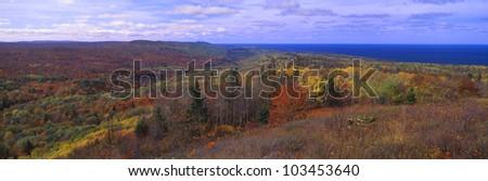 Keweenaw Peninsula and Copper Harbor, Michigan's Upper Peninsula, Michigan - stock photo