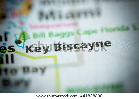 Key Biscayne. Florida. USA - stock photo