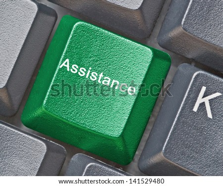 Key for assistance