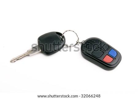 key for car - stock photo
