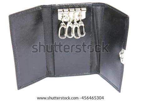 Key holder black - stock photo
