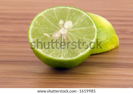 Key Lime - stock photo