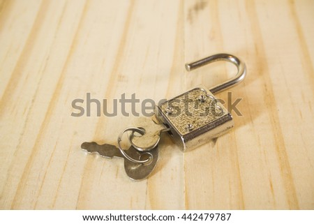 key lock and master key