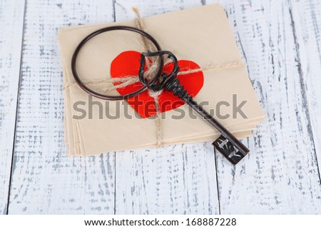 Key of happiness. Conceptual photo.  - stock photo