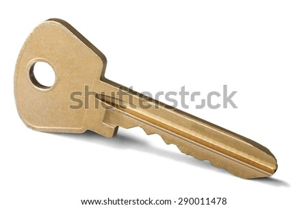 Key, Real Estate, Isolated.