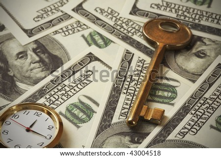 Key to Financial Success - stock photo
