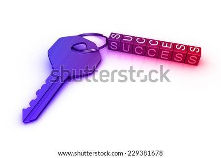 key to success - stock photo