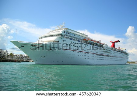 Key West Florida June Stock Photo Shutterstock - Cruise ships key west
