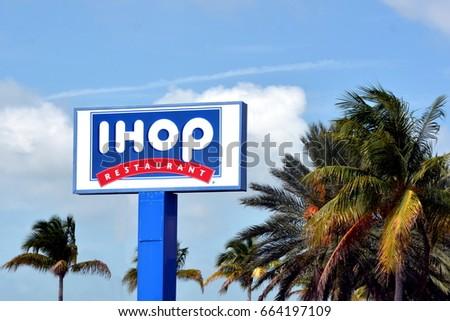 Key Westjune 20 Ihop Retail Chain Stock Photo Royalty Free