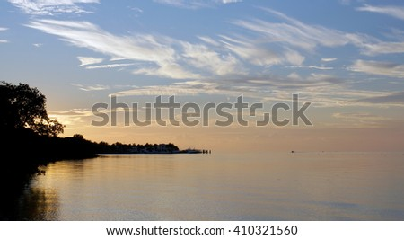 Key West Sunset - stock photo
