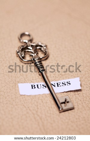 key with label