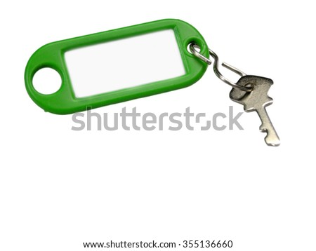 Key with shield - stock photo