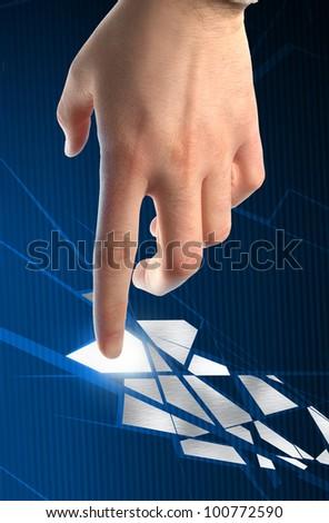keyboard_button_choise - stock photo