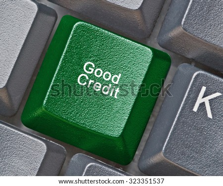 Keyboard for good credit