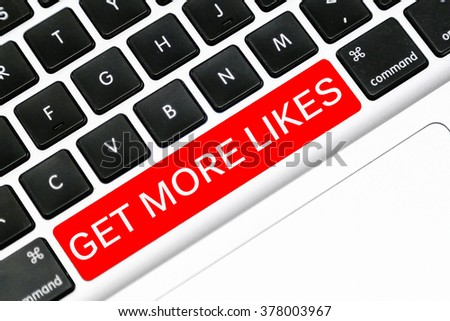Keyboard space bar button written word get more likes