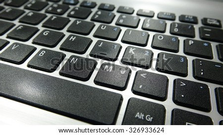 keyboard, technology and internet concept background