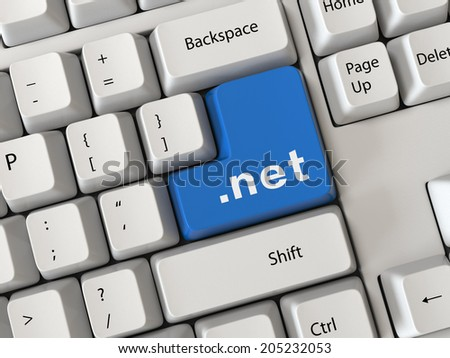 Keyboard with a word net