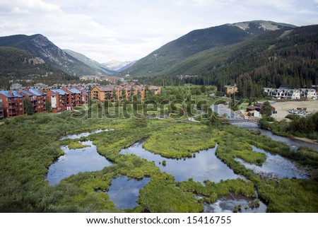Keystone Village - stock photo