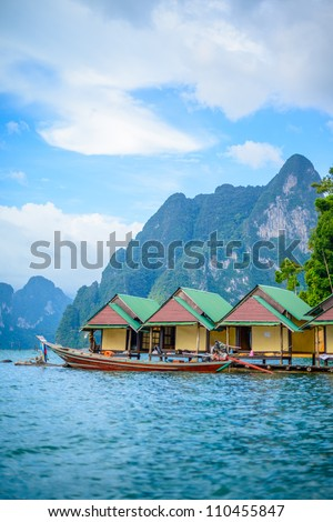 Khao Sok National Park, Mountain and Lake in Thailand