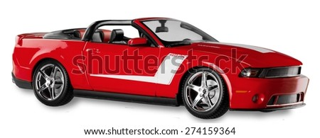 KHERSON, UKRAINE - SEPTEMBER 06, 2013: Car, Sports Car, Muscle Car. - stock photo