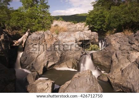 Khon waterfall near Ninh Thuan, Vietnam, Asia