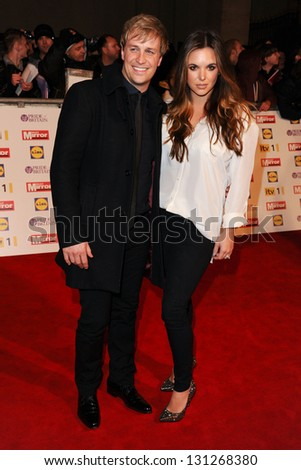 Kian Egan and Jodie Albert arriving for the 2012 Pride of Britain Awards, at the Grosvenor House Hotel, London. 29/10/2012 Picture by: Steve Vas - stock photo