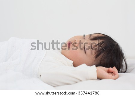 kid sleeping peacefully