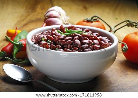 kidney bean   - stock photo