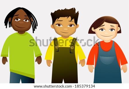 Kids - stock photo