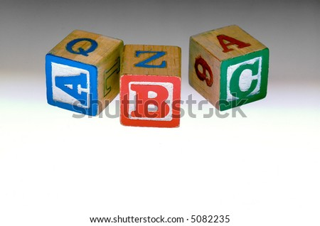 Kids Alphabet blocks