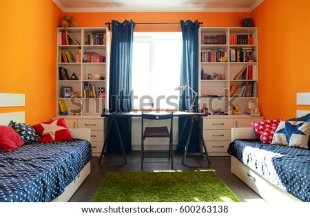 Kids Bedroom Stock Images Royalty Free Images Vectors